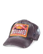 Worn-In Logo Baseball Hat, Navy