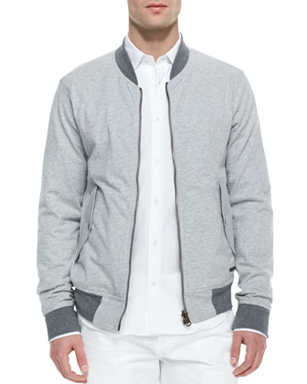 Reversible Two-Tone Jacket, Gray