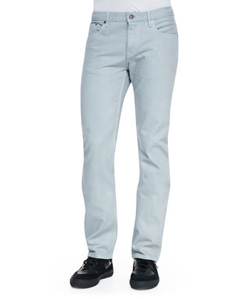 Steadman 5-Pocket Denim Jeans, Medium Gray