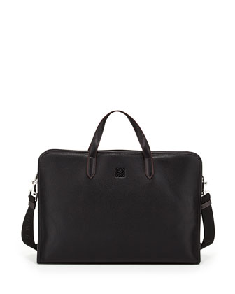 Toledo Men's Computer Bag, Black