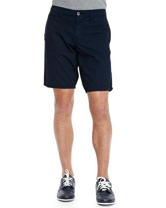 St. Bart's Twill Shorts, Navy