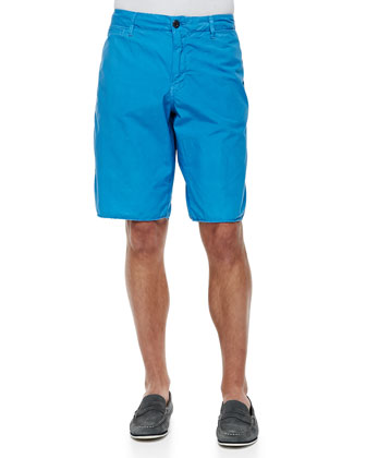 Seaside Cotton Shorts, Marina