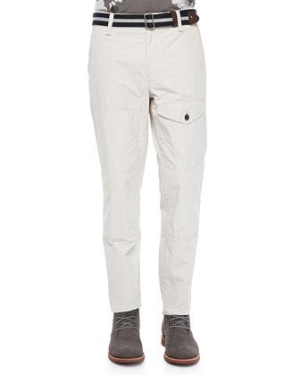 Stattel Utility Pants, White