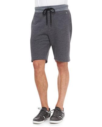 Melange Training Shorts, Dark Gray