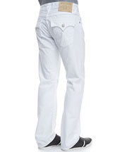 Ricky White Denim Jeans