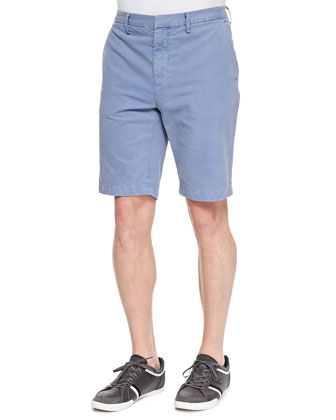 Cotton Chino Shorts, Herring