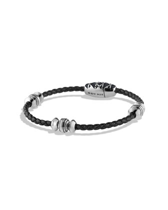 Frontier Bead Bracelet in Black