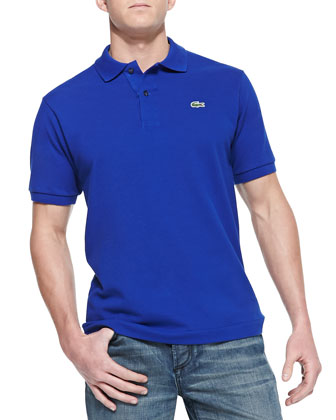 Classic Pique Polo, Prussian Blue