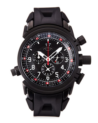 Men's 12 Gauge?? Chronograph Watch, Black