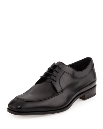 Lanier Lace-Up Derby, Black