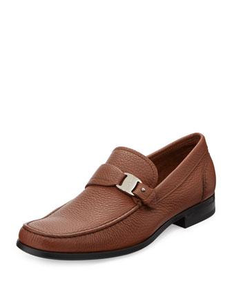 Bravo Buckle Loafer, Brown
