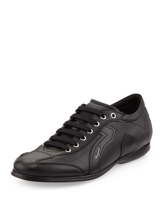 Mille 6 Low-Top Sneaker, Black