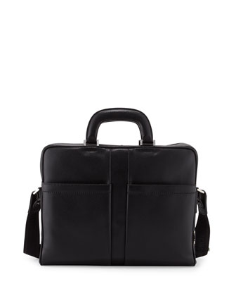 Los Angeles Single-Gusset Briefcase
