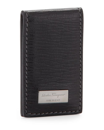 Revival Money Clip, Black