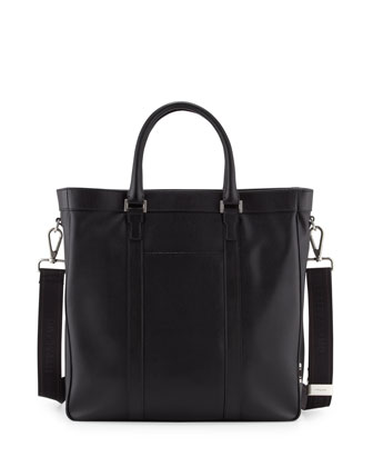 Los Angeles Men's Tote Bag, Black
