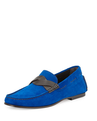 Crawford Twist-Strap Penny Loafer