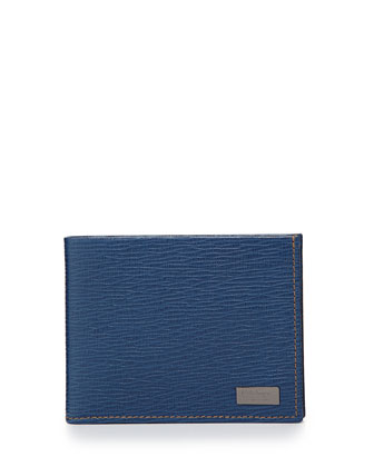 Revival Bi-Fold Wallet, Light Blue