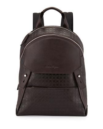 Gamma Men's Soft Backpack, Dark Brown