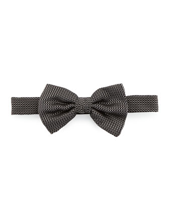 Torres Silk Bow Tie, Black