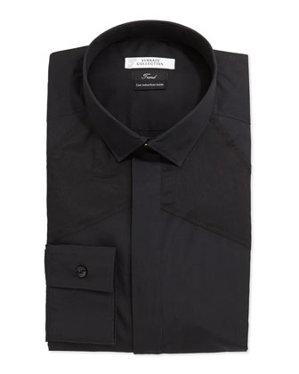 Trend Fit Dress Shirt, Black