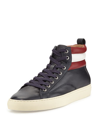 Heaven Leather High-Top Sneaker