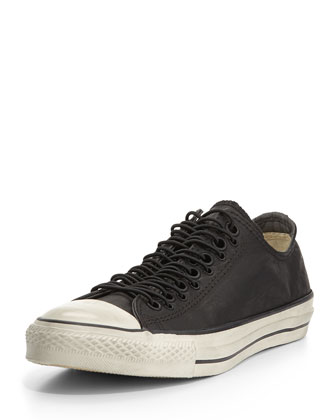 John Varvatos Coated Multi-Eyelet Sneaker