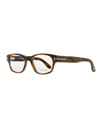 Snowdon Hollywood Fashion Glasses with Clip-On Shades, Brown