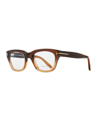 Large Havana Frame Fashion Glasses, Brown