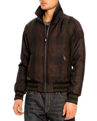 Plaid Zip-Pocket Bomber Jacket, Long-Sleeve Henley Shirt & 16 Classic Denim ...
