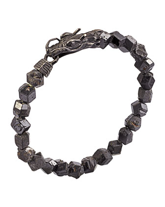 Naga Men's Dragon-Head Bracelet