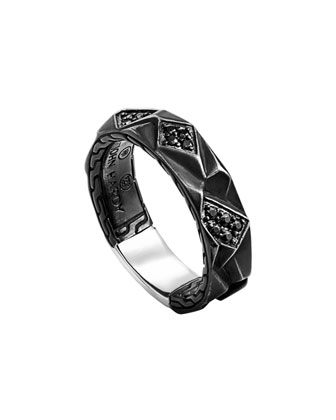 Men's Chain Collection Lava Ring
