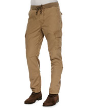 Weekend Cargo Pants, Tan