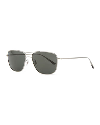 Shaefer 55 Polarized Sunglasses, Pewter