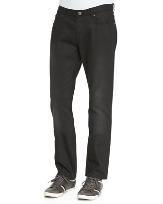Bowery Denim Jeans, Black