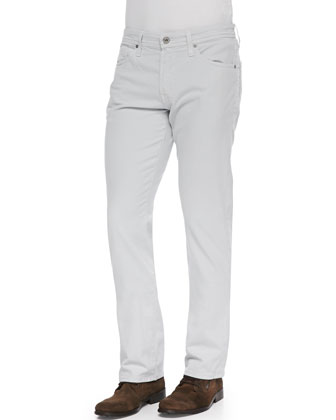 Protege Faded Twill Pants, Gull Gray