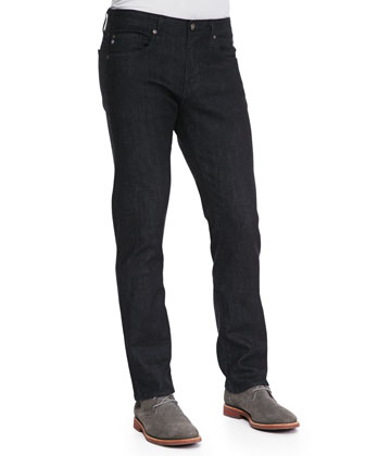 Matchbox Stretch-Denim Jeans, Dark Indigo