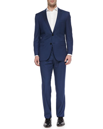 James Two-Piece Suit, Bright Blue