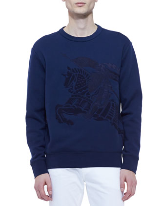 Equestrian Knight Crewneck Sweatshirt