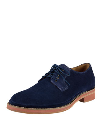 South Street Plain Toe Shoe, Navy