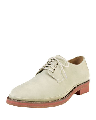 South Street Plain Toe Oxford, Champagne