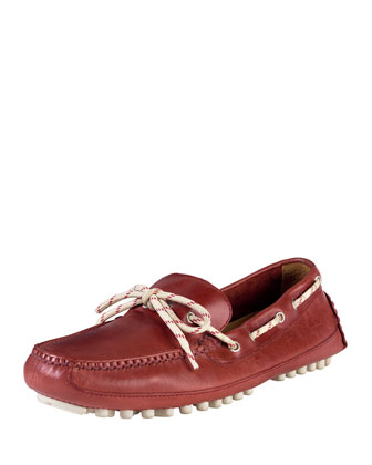 Men's Grant Canoe Camp Moccasin, Tango Red