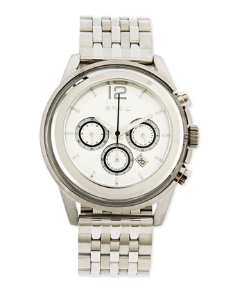 Orchestra Stainless Steel Chronograph Watch