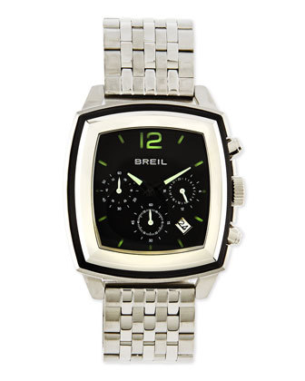 Orchestra Square Chronograph Bracelet Watch