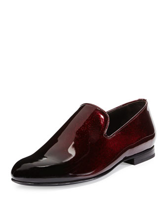 Sloane Men's Ombre Patent Slipper