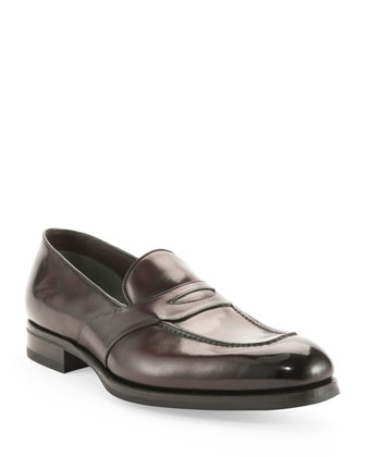 Charles Penny Loafer, Dark Brown