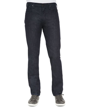 Core Barron Relaxed Fit Jeans, Dark Blue