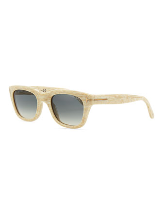 Snowdon Hollywood Sunglasses, White