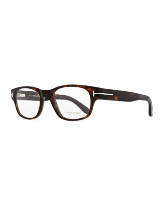 Hollywood Fashion Glasses with Clip-On Shades, Dark Brown