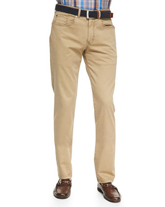 Five-Pocket Pants, Khaki