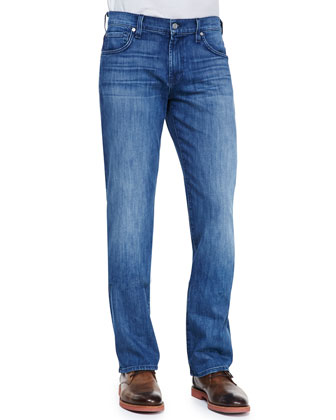 Carsen Faded Relaxed Fit Jeans, Nakkitta Blue